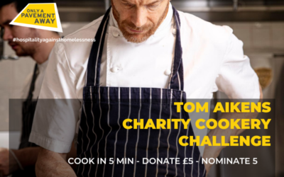 Tom Aikens teams up with Only A Pavement Away for charity cooking challenge