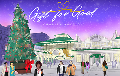 Covent Garden Launches Charity Auction 'Gift For Good' To Support Homeless Charity Only A Pavement Away This Christmas