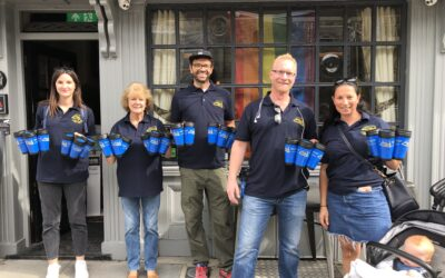 92 Volunteers Unite With Only A Pavement Away To Fill Water Flasks For Vulnerable Communities